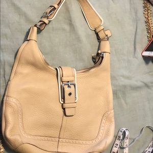 Used bag by coach size 12x10x2